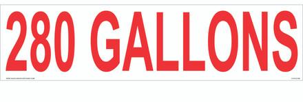 CVD18-268 - 280 GALLONS