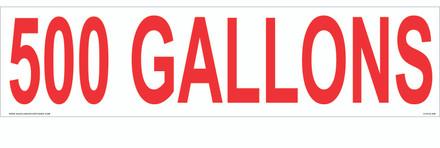 CVD18-269 - 500 GALLONS