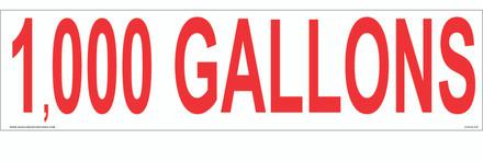 CVD18-270 - 1,000 GALLONS