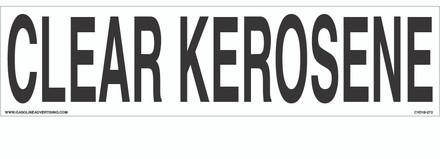 CVD18-272 - CLEAR KEROSENE