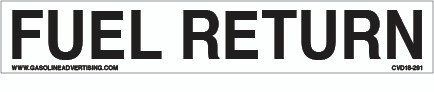 CVD18-291 - FUEL RETURN