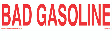 CVD18-292 - BAD GASOLINE