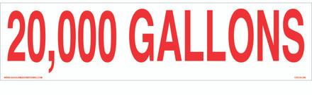 CVD18-296 - 20,000 GALLONS