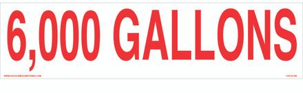 CVD18-297 - 6,000 GALLONS