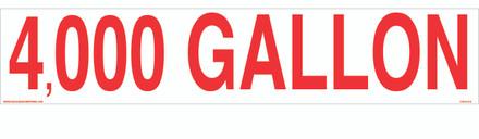 CVD19-019 - 4,000 GALLON