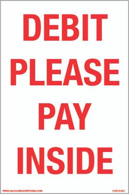 CVD19-021 - DEBIT PLEASE PAY INSIDE