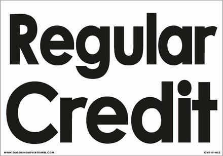 CVD19-023 - REGULAR CREDIT