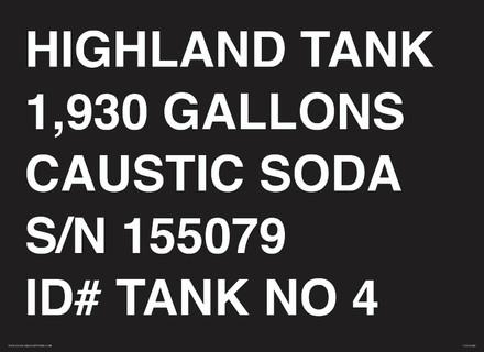 CVD19-029 - HIGHLAND TANK...