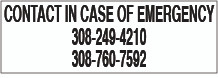 CVD19-032 - CONTACT IN CASE OF EMERGENCY