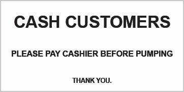CVD19-057 - CASH CUSTOMERS...