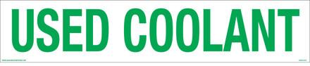 CVD19-079 - USED COOLANT