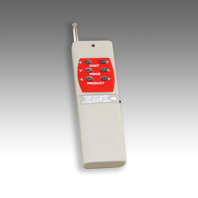 Remote with 6 buttons for LED Fuel Price signs