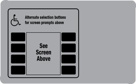 DG10-ADA-AVONSWIFTE Monochrome Softkey Overlay