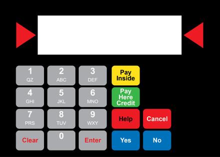 DG1-KPO-2-GL-C02 Vista Keypad Overlay