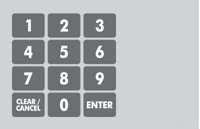 GA-887862-001 Ovation Keypad Overlay