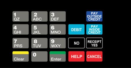 DG10-KPO-1-C02 Keypad Overlay