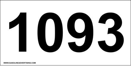 UN-1093 Decal