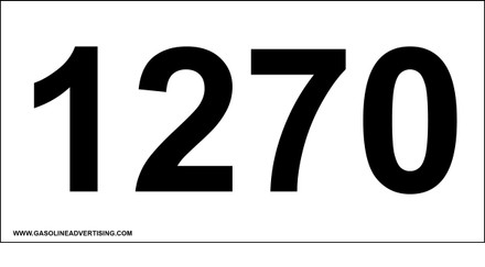 UN-1270 Decal