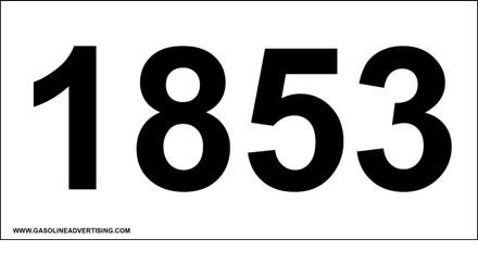 UN-1853 Decal
