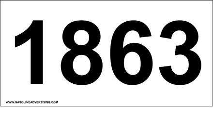 UN-1863 Decal