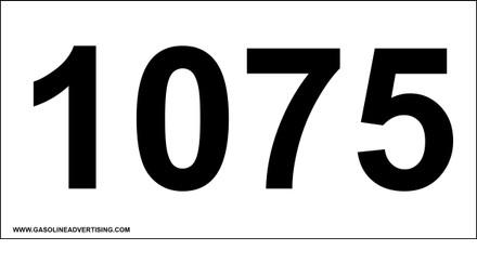 UN-1075 Decal