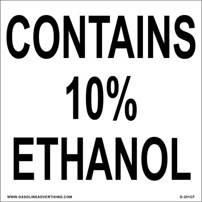 D-201CF - CONTAINS 10% ETHANOL