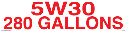 5W30 280 GALLONS - CVD-HTZ35