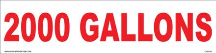 CVD05-35 - 2000 GALLONS