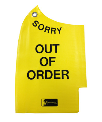 """NC1 """"OUT OF ORDER"""" Reusable Nozzle Bag"""