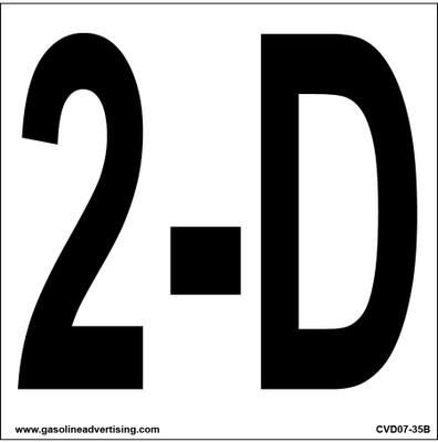 CVD07-35B - 2-D Decal