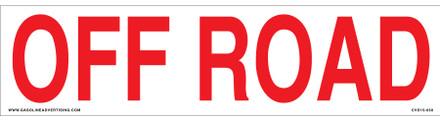 CVD15-050 - OFF ROAD
