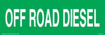 CVD15-065 - OFF ROAD DIESEL