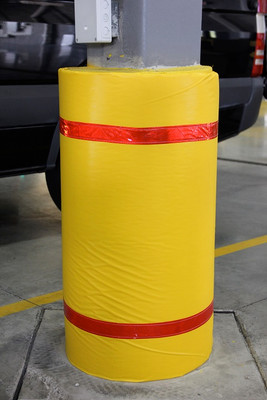 Column Wrap Soft Padded Cover w/ Tape