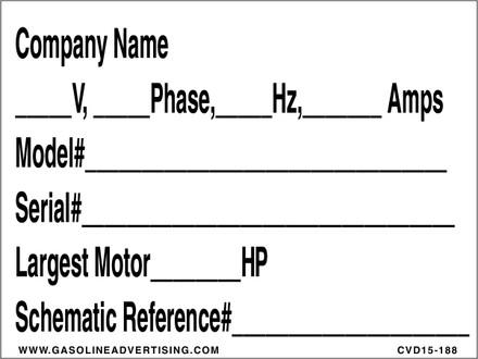 CVD15-188 - Company Name...
