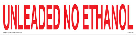 CVD15-183 - UNLEADED NON ETHANOL