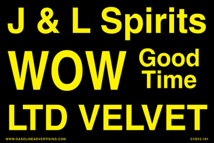 CVD15-191 - J & L SPIRITS...