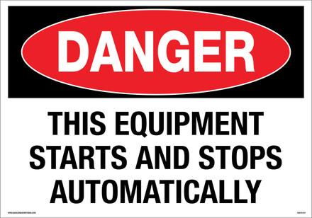CAS19-001 Aluminum Sign - Danger...