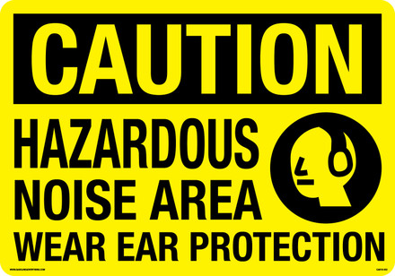 CAS19-002 Aluminum Sign - Caution...