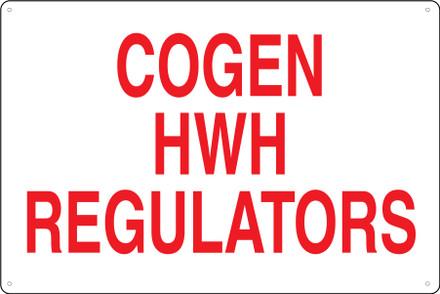 CAS18-052 Aluminium Sign - Cogen...