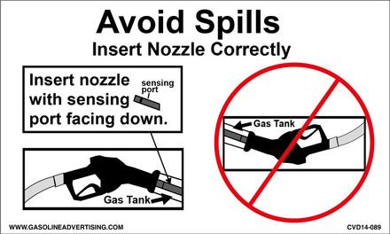 CVD14-089 - Avoid Spills...