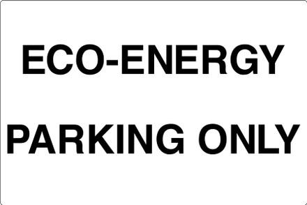 CAS17-05 Aluminium Sign - Eco-Energy...