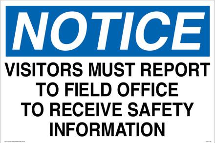 CAS17-06 Aluminium Sign - Notice...
