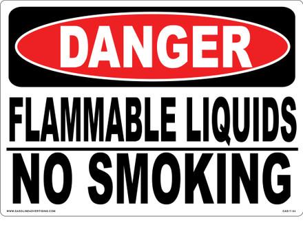 CAS17-54 Aluminium Sign - Danger..