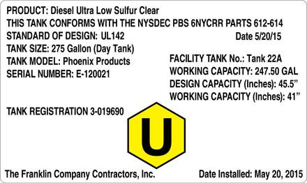 CAS15-18 Aluminium Sign - Product...