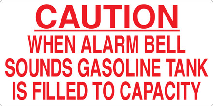 CAS15-22G Aluminium Sign - Caution...