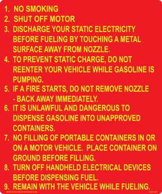 CAS15-24 Aluminium Sign - No Smoking...