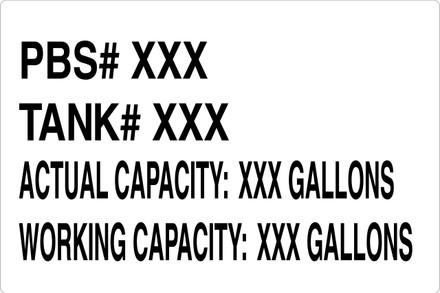 CAS16-17 Aluminium Sign - PBS#...
