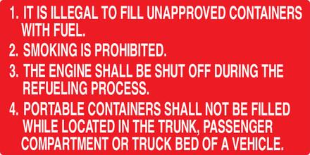 CAS16-20 Aluminium Sign - It Is Illegal...