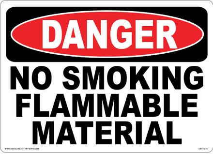 CAS16-21 Aluminium Sign - Danger...