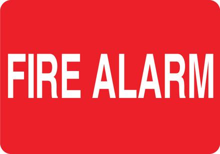 CAS16-27 Aluminium Sign - Fire Alarm